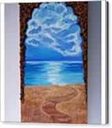 Mediterranean Road.  Canvas Print