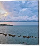 Mediterranean View II Canvas Print