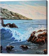 Mediterranean Wave Canvas Print