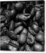 Medium Roast In Black And White Canvas Print