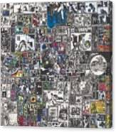 Medusa Maze Canvas Print