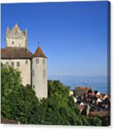 Meersburg Castle - Lake Constance Or Bodensee - Germany Canvas Print