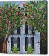 Meeting Street In Bloom Canvas Print