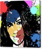 Meghan Markle Pop Art Canvas Print