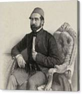 Mehmed Cemil Bey Canvas Print