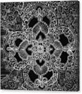 Mehndi  Canvas Print