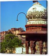 Mehrangarh Fort - Approach With Caution Canvas Print