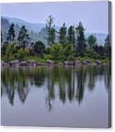 Meitan County Reflection - Guizhou, China Canvas Print