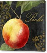 Melange Peach Peche Canvas Print