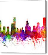 Melbourne Australia Cityscape 02 Canvas Print