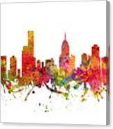 Melbourne Australia Cityscape 08 Canvas Print