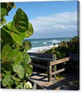 Melbourne Beach Florida Canvas Print