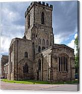 Melbourne Parish Church In Derbyshire Canvas Print