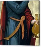 Melchizedek King Of Salem Canvas Print