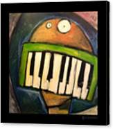 Melodica Mouth Canvas Print