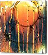 Melting Demon Canvas Print