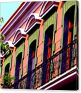 Melville Balcony By Darian Day Canvas Print