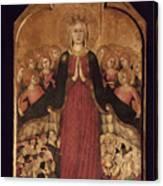 Memmi: Madonna In Heaven Canvas Print