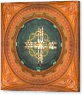 Memorial Presbyterian Church Ceiling Canvas Print