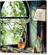Memories And Music Canvas Print
