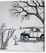 Memories For Sale Canvas Print