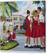 Memories Of High School Canvas Print