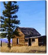 Memories Of Montana Canvas Print