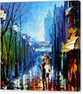 Memories Of Paris Canvas Print
