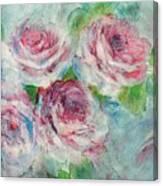 Memories Of Roses Canvas Print