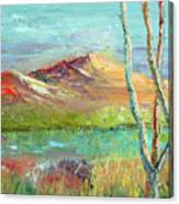 Memories Of Somewhere Out West Canvas Print