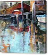 Memories Of Venice Canvas Print
