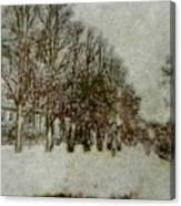 Memory Lane II Canvas Print