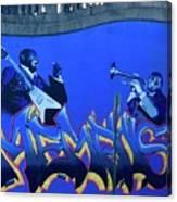 Memphis Blues Canvas Print