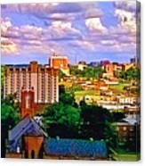 Memphis Church Canvas Print