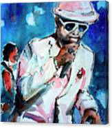 Memphis Music Legend William Bell On Stage 1 Canvas Print