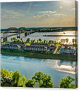 Memphis On The Mississippi Canvas Print