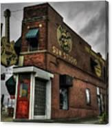 Memphis - Sun Studio 001 Canvas Print