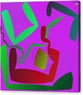 Memory Cube Canvas Print