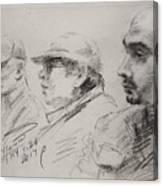 Men 3 Canvas Print