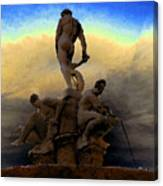 Men Of Greece Canvas Print