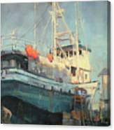 In Dry Dock Canvas Print