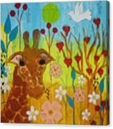 Mending Love Canvas Print