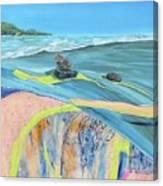 mendocino coast II Canvas Print