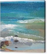Mendocino Coast-ocean View Canvas Print