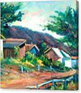 Mendocino Canvas Print