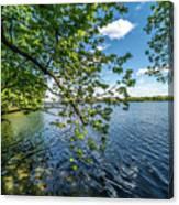 Mendota Lake Canvas Print