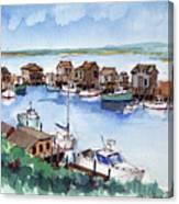 Menemsha Safe Haven Canvas Print