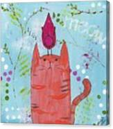 Meow Song Canvas Print