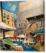 mercato del Pesce Canvas Print