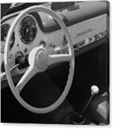 Mercedes 300sl Dashboard Canvas Print